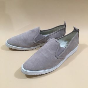 Karl Largerfield Genuine Leather Suede Shoes
